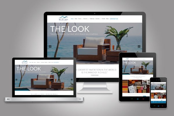 Blue Bay Website Design
