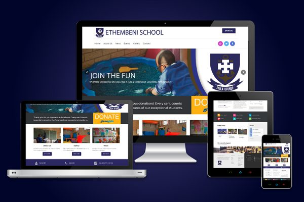 Ethembeni School Website Design