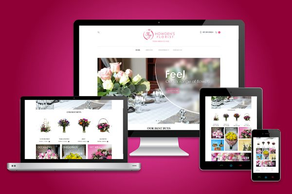 Howdens Florist Website Design