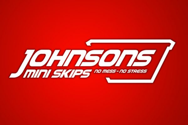 Johnsons Mini Skips Logo Design