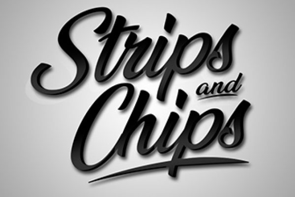 Strips & Chips Logo Design