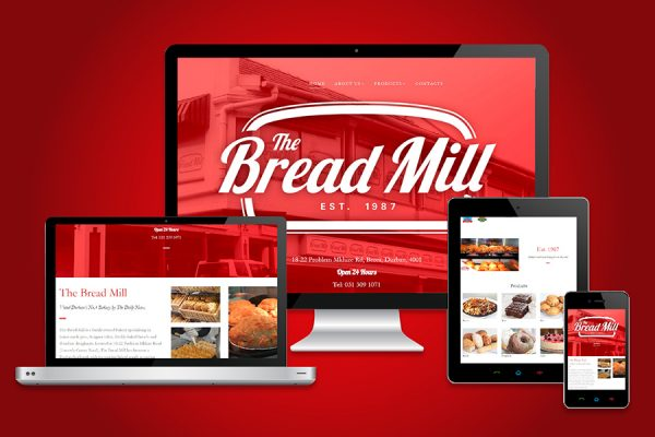 The Bread Mill Website Design