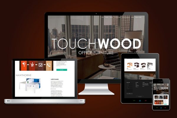 Touchwoodl  Website Design